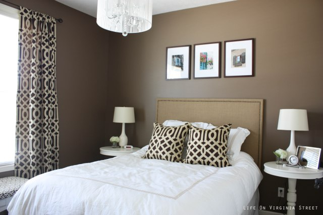 Brown paint color for bedroom