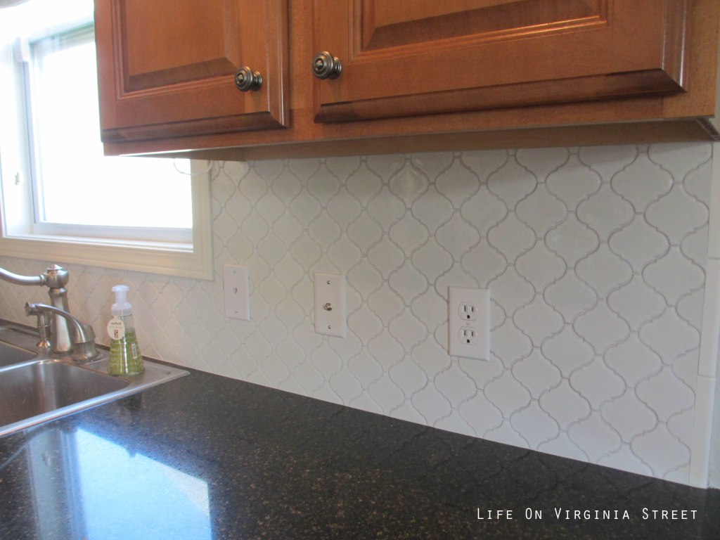 Our New Kitchen Tile Backsplash Makeover Life On