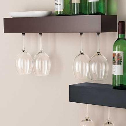 entertaining shelves life on virginia street. Black Bedroom Furniture Sets. Home Design Ideas